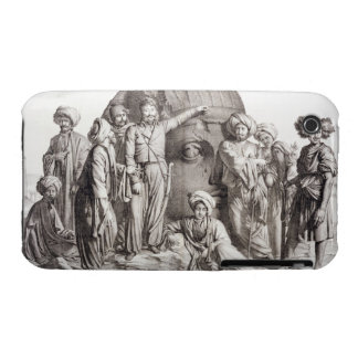 Monsieur Drovetti y sus seguidores que usan un plo iPhone 3 Carcasa