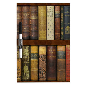 Monsieur Fancypantaloons' Instant Library Bookcase Dry-Erase Board