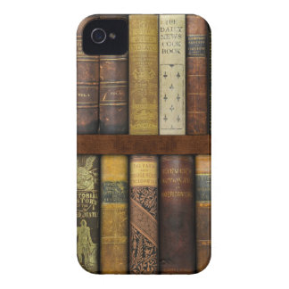 Monsieur Fancypantaloons' Instant Library Bookcase iPhone 4 Cover