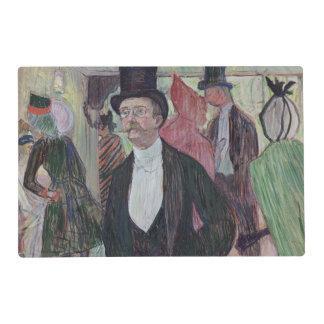 Monsieur Fourcade, 1889 Laminated Placemat