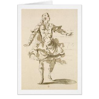 Monsieur Jeliotte as Pigmalion in Pigmalion a li Greeting Cards