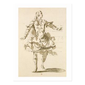 Monsieur Jeliotte as Pigmalion in Pigmalion a li Post Card