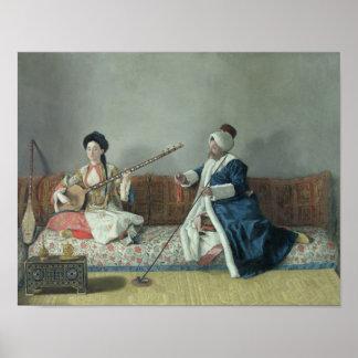 Monsieur Levett y Mademoiselle Elena Impresiones