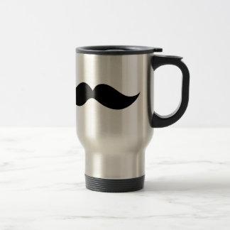 Monsieur Moustache Taza Térmica