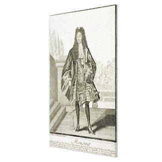 'Monsieur' otherwise Philip Duc d'Orleans of Franc Canvas Print