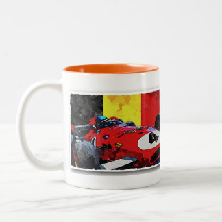 "Monsieur ""X "" Two-Tone Coffee Mug"