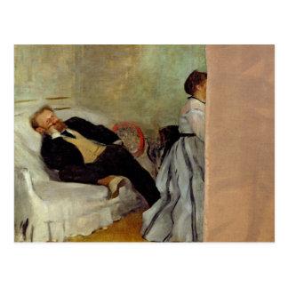 Monsieur y señora Eduardo Manet, 1868-69 Postales