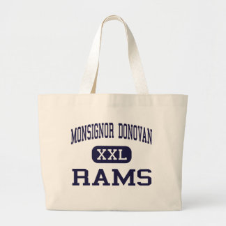 Monsignor Donovan - Rams - Catholic - Athens Canvas Bags