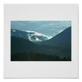 Monsoon Afternoon in the Sangre de Cristo Mts. Poster