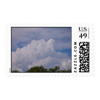 Monsoon Clouds Postage