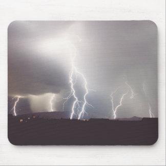 Monsoon Lightning Storm Strikes Vail, Arizona Mouse Pad