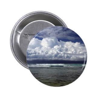 Monsoon storm south coast Sri Lanka Button