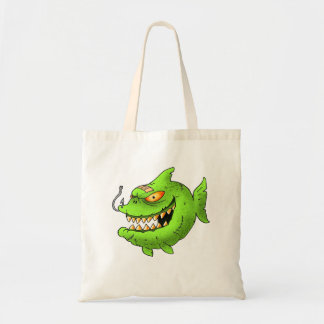 monstafish series tote bag