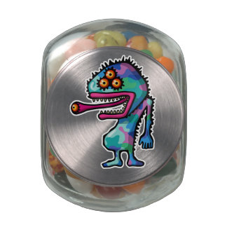 monster4 jelly belly candy jars