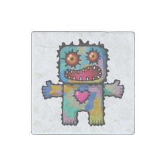 Monster 1 stone magnet