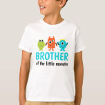 "Monster 1st Birthday T-Shirt for Brother<br><div class=""desc"">This shirt matches our Monster Birthday Party set for the proud brother!</div>"