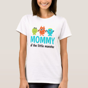 Monster 1st Birthday T Shirt For Mommy