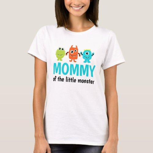 Monster 1st Birthday T_Shirt for Mommy