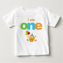 Monster 1st Birthday T-shirt Toddler Baby Kid