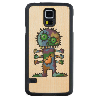 Monster 2 carved® maple galaxy s5 case