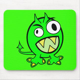 monster-303508 monster alien green lime scary FUNN Mouse Pads