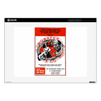 """Monster A Go-Go ! 15"""" Laptop Decals"""