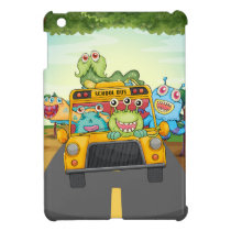 Monster and bus iPad mini cases