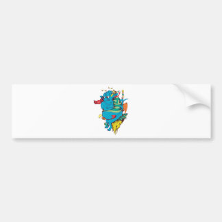 Monster and Creature Fantasy Art Bumper Stickers