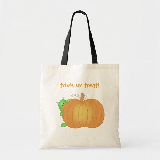 Monster and Pumpkin Bag