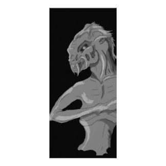 Monster apparition rack card