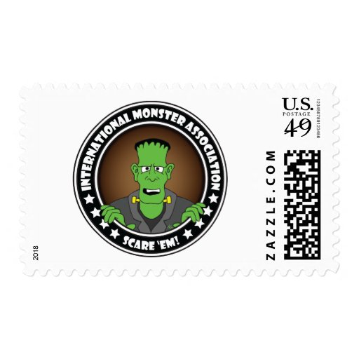 MONSTER ASSN. #2b Postage Stamps