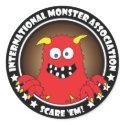 MONSTER ASSN. #5b sticker
