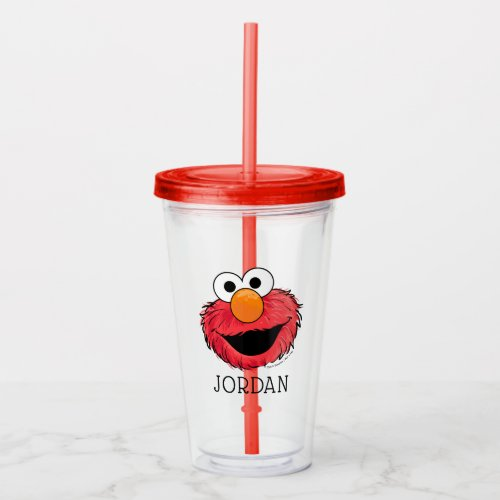Monster At the End of this Story   Elmo Acrylic Tumbler