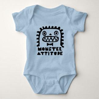 Monster Attitude Baby Bodysuit