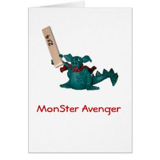 MonSter Avenger Card