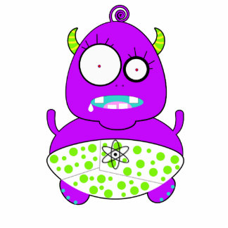 Monster Baby Cutout
