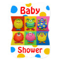 Monster Baby Shower 5x7 Paper Invitation Card