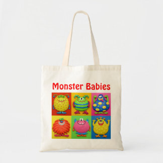 Monster Baby Shower Tote Bag