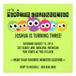 Monster Bash Birthday Party Invitations