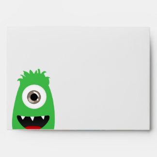 Monster Bash Envelopes
