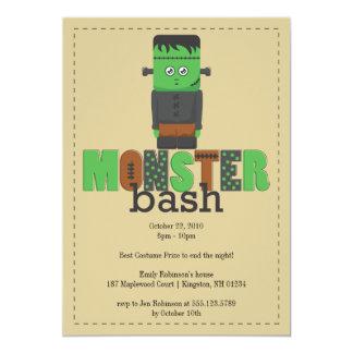Monster Bash Halloween Party Invitation