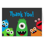 Monster Bash Thank You Notes Greeting Cards