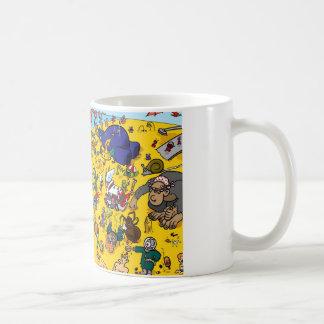 Monster Beach Coffee Mug