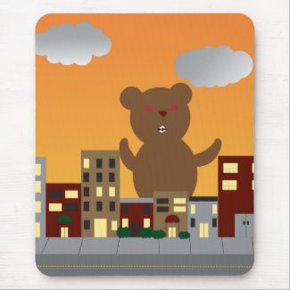 Monster Bear Mousepad