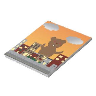 Monster Bear Notepad