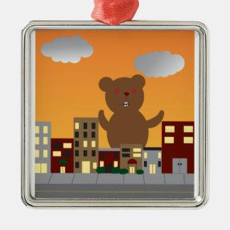 Monster Bear Ornament
