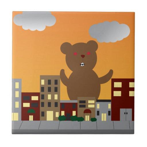Monster Bear Tile