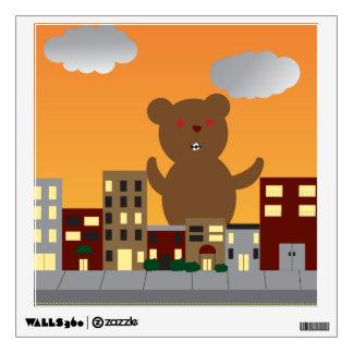 Monster Bear Wall Decal