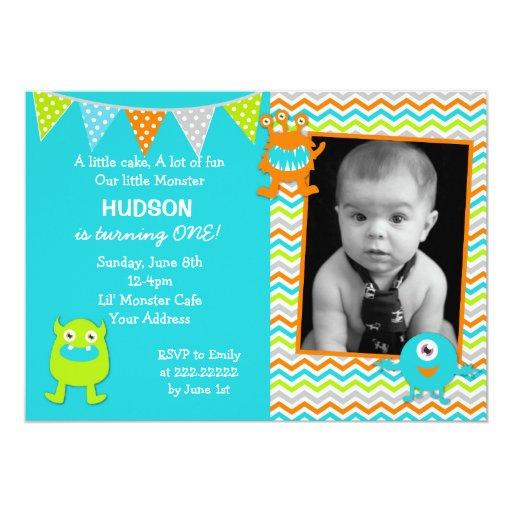 Personalized Boy Birthday Invitations