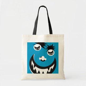Monster Blue Canvas Bag
